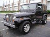 1993 Black Jeep Wrangler S 4x4 #22772449