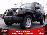 2010 Dark Charcoal Pearl Jeep Wrangler Sport 4x4 #22765789