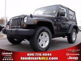 2010 Dark Charcoal Pearl Jeep Wrangler Sport 4x4 #22765795