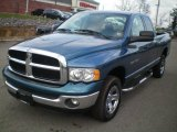 2005 Atlantic Blue Pearl Dodge Ram 1500 SLT Quad Cab 4x4 #22760067