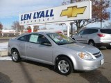 2007 Ultra Silver Metallic Chevrolet Cobalt LS Coupe #22764002