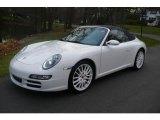 2008 Carrara White Porsche 911 Carrera S Cabriolet #22759647