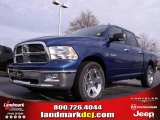 2010 Deep Water Blue Pearl Dodge Ram 1500 Big Horn Crew Cab #22765822
