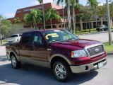 2006 Dark Toreador Red Metallic Ford F150 Lariat SuperCrew #2273582