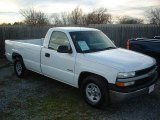 2000 Summit White Chevrolet Silverado 1500 Regular Cab #22846845