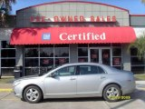 2008 Silverstone Metallic Chevrolet Malibu LS Sedan #22833911
