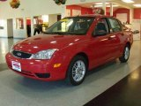 2005 Infra-Red Ford Focus ZX4 SE Sedan #22837477