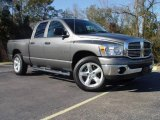 2008 Mineral Gray Metallic Dodge Ram 1500 SLT Quad Cab #2276564
