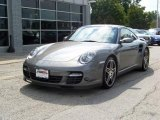2007 Meteor Grey Metallic Porsche 911 Turbo Coupe #228872
