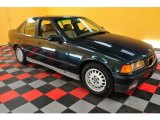 1994 Dark Green Metallic BMW 3 Series 325i Sedan #22888408
