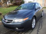 2008 Carbon Gray Pearl Acura TSX Sedan #22922658