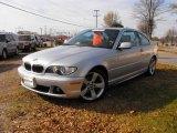 2005 Titanium Silver Metallic BMW 3 Series 325i Coupe #22906638