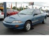 1998 Bright Aqua Metallic Chevrolet Cavalier Coupe #22919851