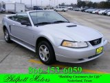 2000 Silver Metallic Ford Mustang V6 Convertible #22917226