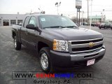 2010 Taupe Gray Metallic Chevrolet Silverado 1500 LT Extended Cab 4x4 #22920535