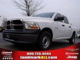 2010 Stone White Dodge Ram 1500 ST Crew Cab #22914502