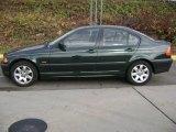 2001 Fern Green Metallic BMW 3 Series 325xi Sedan #22919060