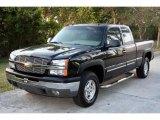 2003 Black Chevrolet Silverado 1500 LT Extended Cab 4x4 #22916226