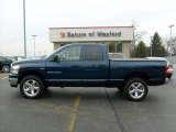 2007 Patriot Blue Pearl Dodge Ram 1500 Big Horn Edition Quad Cab 4x4 #22910736