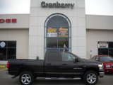 2007 Brilliant Black Crystal Pearl Dodge Ram 1500 Big Horn Edition Quad Cab 4x4 #22912693
