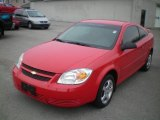 2007 Victory Red Chevrolet Cobalt LS Coupe #22908823