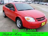 2007 Victory Red Chevrolet Cobalt LS Coupe #22917223