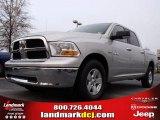 2009 Bright Silver Metallic Dodge Ram 1500 SLT Crew Cab #22914431