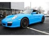 2009 Porsche 911 Mexico Blue Paint to Sample
