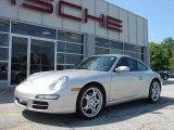 2007 Arctic Silver Metallic Porsche 911 Carrera Coupe #22942