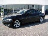 2009 Jet Black BMW 3 Series 335i Coupe #22984538
