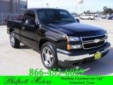 2007 Black Chevrolet Silverado 1500 Classic LS Regular Cab #22983439