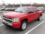 2009 Victory Red Chevrolet Silverado 1500 LT Crew Cab #22992498