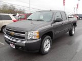 2010 Taupe Gray Metallic Chevrolet Silverado 1500 LT Extended Cab #22992497