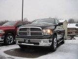 2010 Brilliant Black Crystal Pearl Dodge Ram 1500 Big Horn Quad Cab 4x4 #22990444