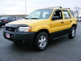 2003 Chrome Yellow Metallic Ford Escape XLS V6 #22980452
