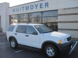 2003 Oxford White Ford Explorer XLS 4x4 #22989084