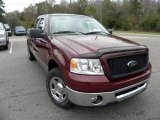 2006 Dark Toreador Red Metallic Ford F150 XLT SuperCab #22984328