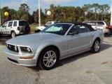 2006 Satin Silver Metallic Ford Mustang GT Premium Convertible #22993529