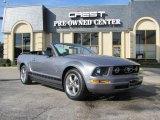 2006 Tungsten Grey Metallic Ford Mustang V6 Premium Convertible #22987335