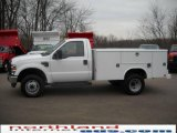 2010 Oxford White Ford F350 Super Duty XL Regular Cab Chassis #22973174