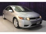2007 Alabaster Silver Metallic Honda Civic EX Coupe #22984071