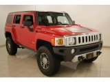 2009 Victory Red Hummer H3  #22991818