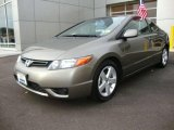 2007 Galaxy Gray Metallic Honda Civic EX Coupe #22975825