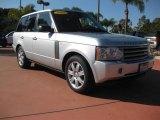 2007 Zermatt Silver Metallic Land Rover Range Rover HSE #22974683
