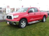 2007 Radiant Red Toyota Tundra SR5 Double Cab 4x4 #22981227