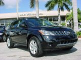 2007 Super Black Nissan Murano S #22968391