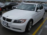 2007 Alpine White BMW 3 Series 335i Sedan #22986838