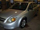 2007 Ultra Silver Metallic Chevrolet Cobalt LS Sedan #22975414