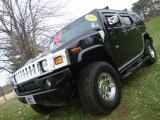 2003 Black Hummer H2 SUV #22968882