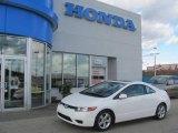 2007 Taffeta White Honda Civic EX Coupe #22979087